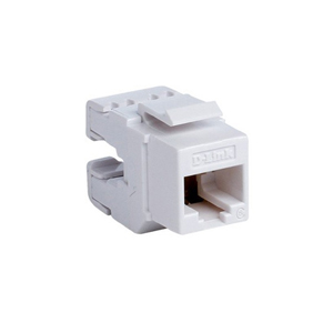 D-link Cat6 UTP 180 Punch Down Keystone Jack  - White (NKJ-C6WHI1B21)
