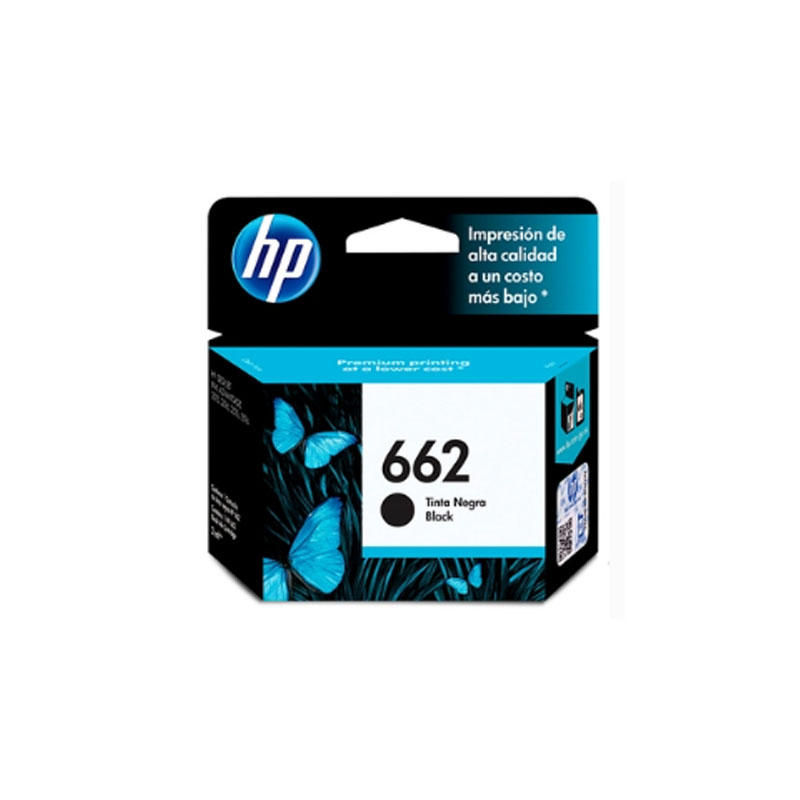 HP 662 Black Original Ink Advantage Cartridge(CZ103AL)
