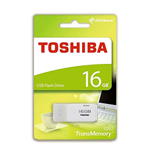 Toshiba Hayabusa White 16GB USB flash