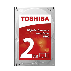 "Toshiba P300 2 TB Desktop 3.5"" High performance Internal Hard Drive"