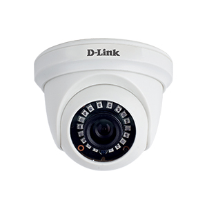 D-Link DCS-F1612 2MP Fixed Dome HD 20M Analog Camera