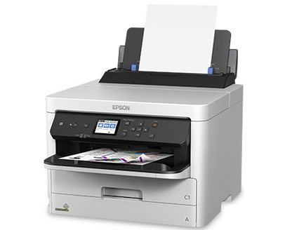 Epson WorkForce Pro Workgroup Wireless, A4 colour Inkjet printer, double sided printing